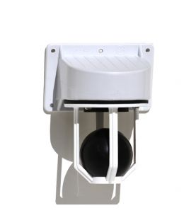 Scupper with Plastic Ball and Seal