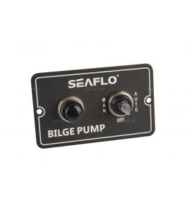 Seaflo Bilge Pump Switch Panel Aluminium