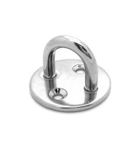 Stainless Steel Pad Eye Round