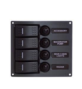 Guardian Rocker Switch Panel C7 Streamline 4P