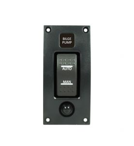 Guardian Switch Panel Bilge Pump ON/OFF Black
