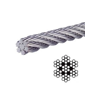 Stainless Steel Wire Rope SS 7 x 7