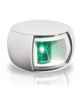 White Hella 2nm NaviLED Compact Starboard Light