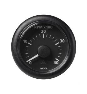 VDO Viewline 52mm Tachometer 4000rpm