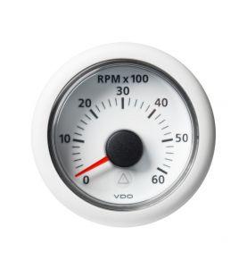 VDO Viewline 52mm Tachometer 6000rpm