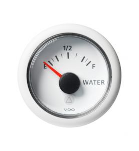 VDO Viewline 52mm Fresh Water Level Empty-Full