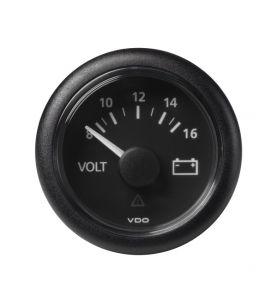 VDO Viewline 52mm Battery Status 8-16v