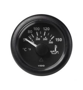 VDO Viewline 52mm Oil Temperature 150 Degree