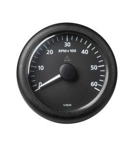VDO Viewline 85mm Tachometer 6000rpm