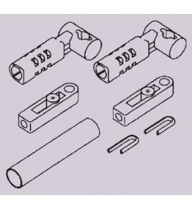 Mercury Control Cable Adapter Kit