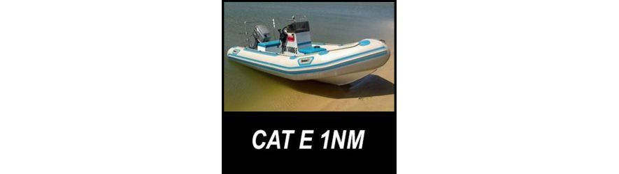 Category E boat safety equipment