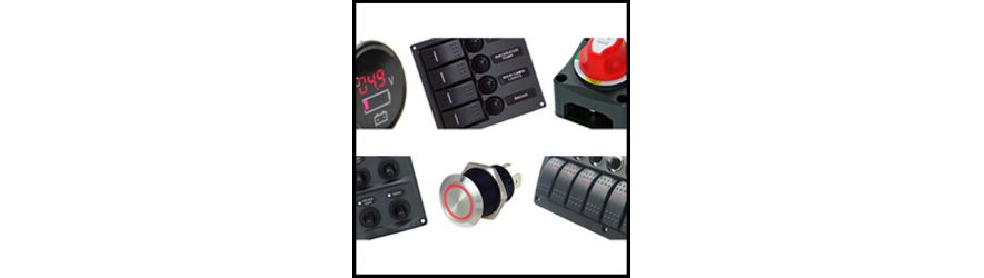 Guardian marine electrical products switch panels and switches for boats