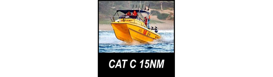 Category C boat safety equipment up to 15 nautical miles