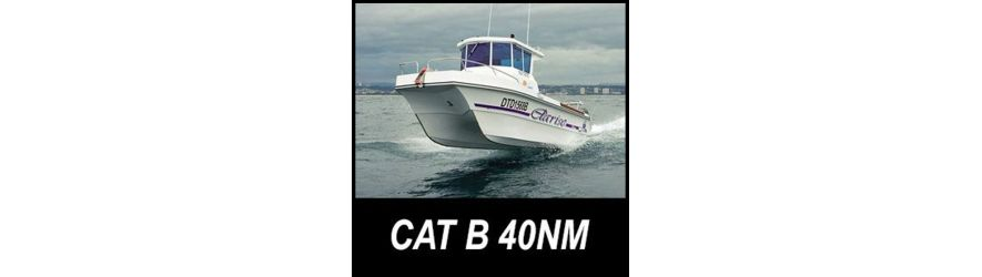 category B boat safety equipment for up to 40 nautical miles