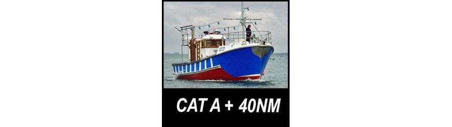 Category A Marine Safety equipment over 40 nautical miles