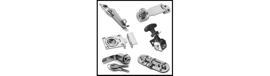 316 Stainless Steel Hatch Fasteners | Barrel Bolts | Hasp and Staples