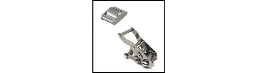 Stainless Steel Ratchet and Cam Buckles