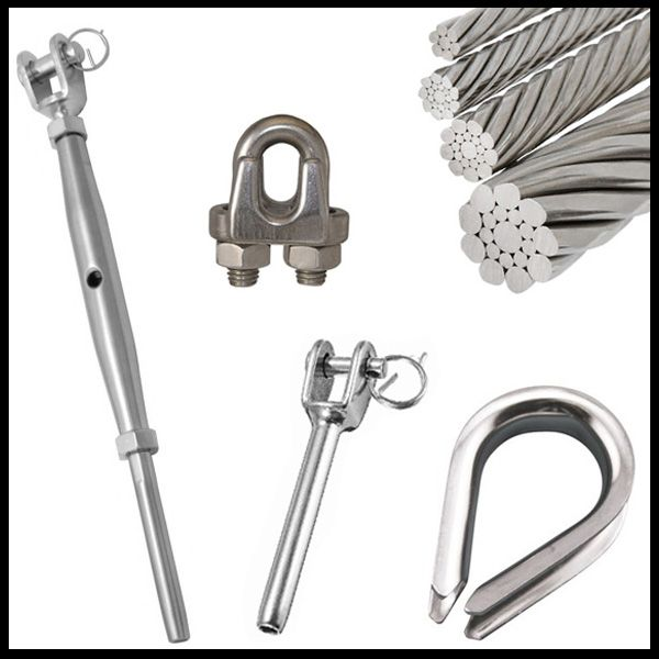 Wire Rope Swage Fittings and Thimbles