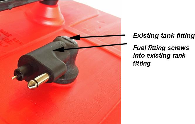 Fuel Tank Connector