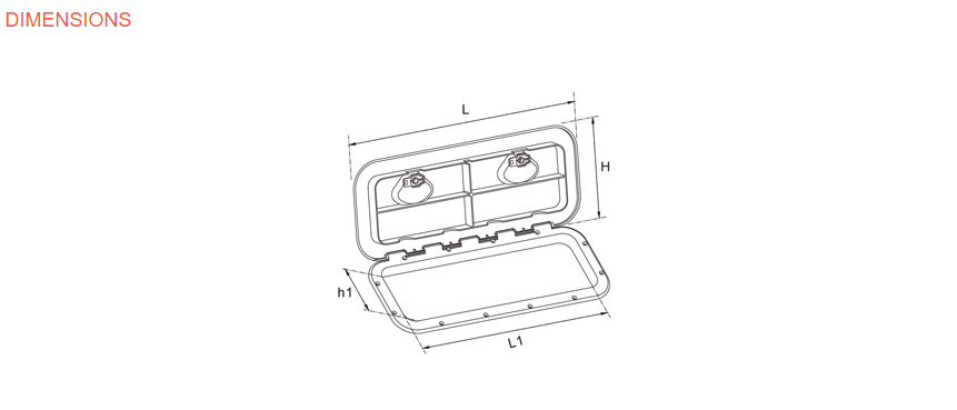 Hatch 2 Button Dims Drawing